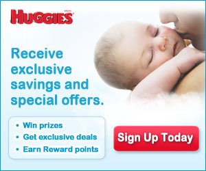 Sign Up for Huggies Newsletter for Advice and Special Offers!