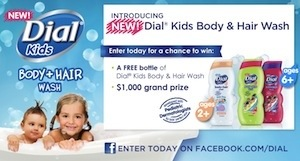 dial kids body and hair wash