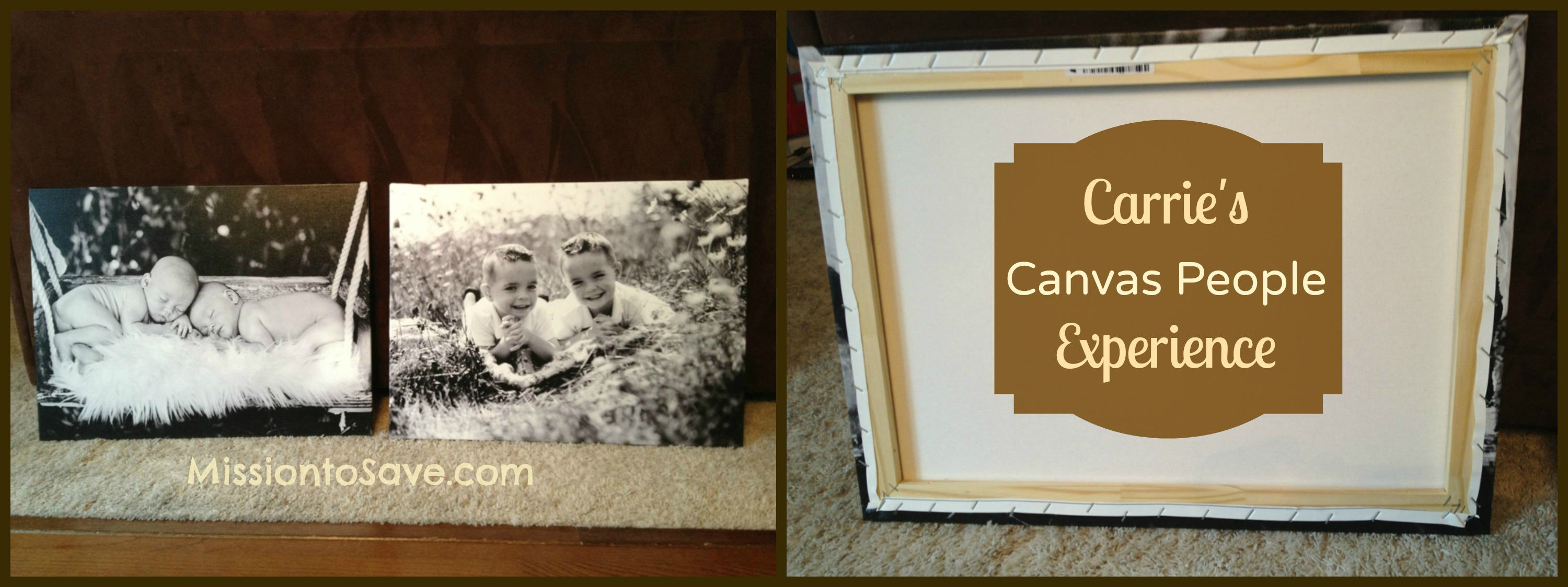 Canvas People 8×10 FREE Canvas Print or $40 Off + Possible Magazine Rebate Offer!