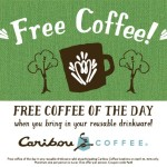 Caribou Coffee Earth Day Free Coffee and Tree Planting Initiative