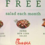 Chick-fil-A Giveaway for 3 Free Salads (5 Winners!)
