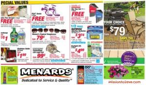 Menards Rebate Deals