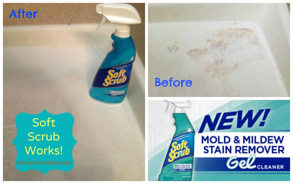 Soft Scrub Mold and Mildew Remover Works!  Try for Yourself!
