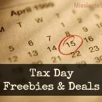 Tax Day Freebies and Deals for 2013!