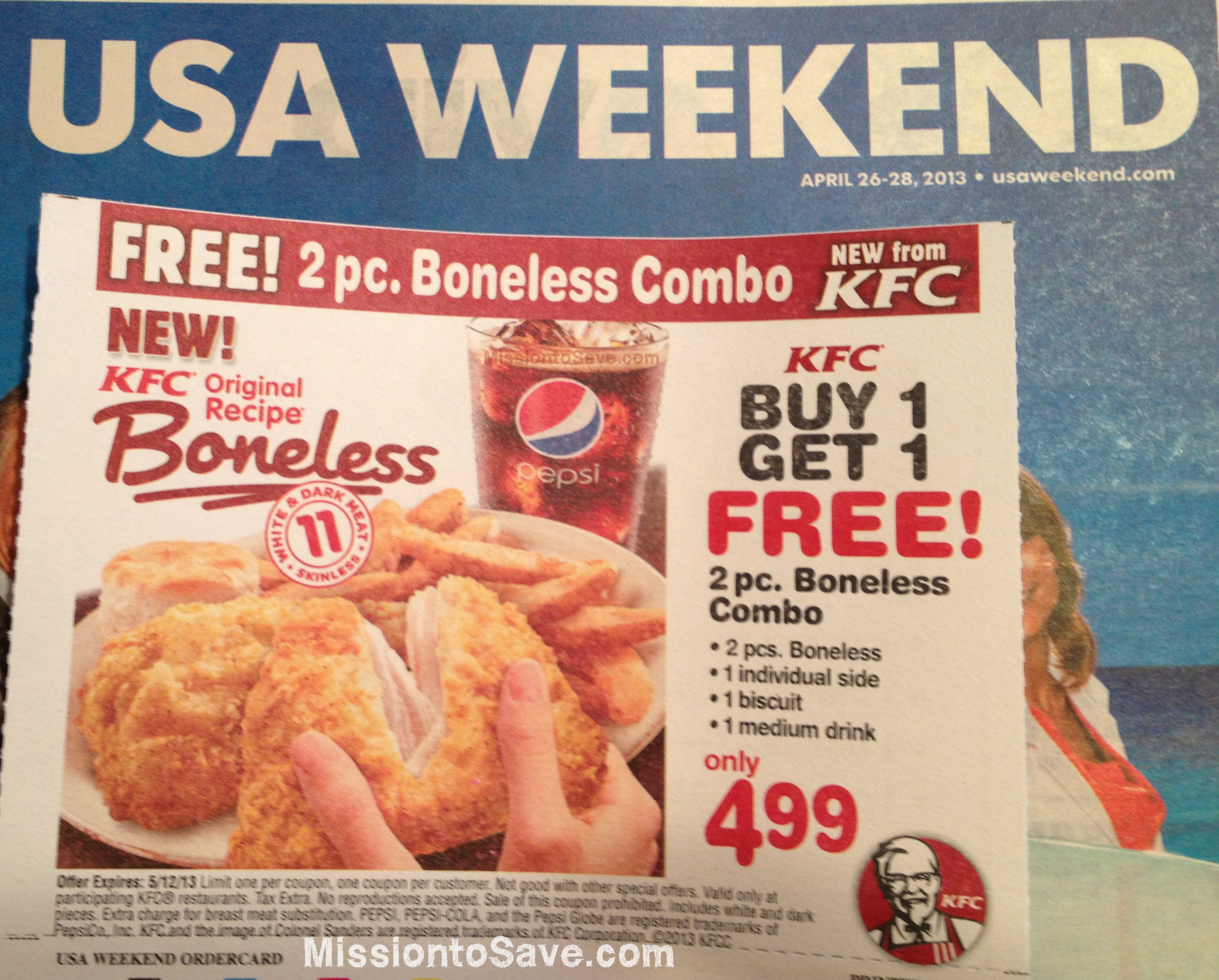Ky chicken coupons