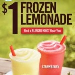 Burger King Frozen Lemonade for $1 thru 5/27