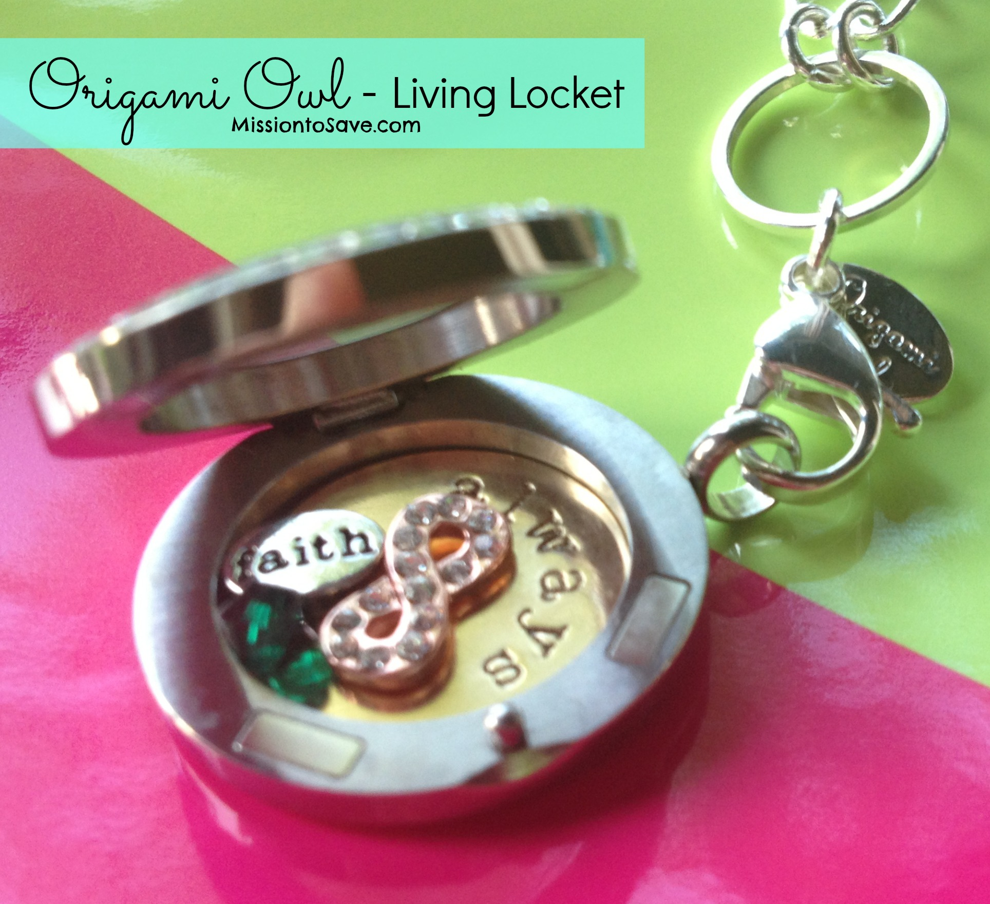 How to open origami owl locket images craft decoration ideas origami owl giveaway 50 credit mission to save jeuxipadfo images jeuxipadfo Image collections