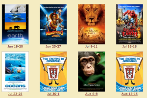 Marcus Theaters Summer Movie Program