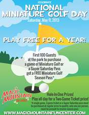 Celebrate National Mini Golf Day at Magic Mountain on 5/11 (and Win Free Mini Golf for a Year!)