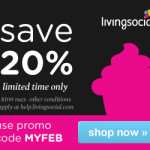 LivingSocial Promotion Code – 20% Off, 3 Days Only!