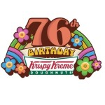 Krispy Kreme 76th Birthday Celebration on July 13 (almost BOGO offer)