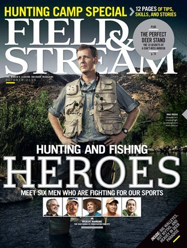 Field and Stream Magazine Subscription – $4.99 per Year