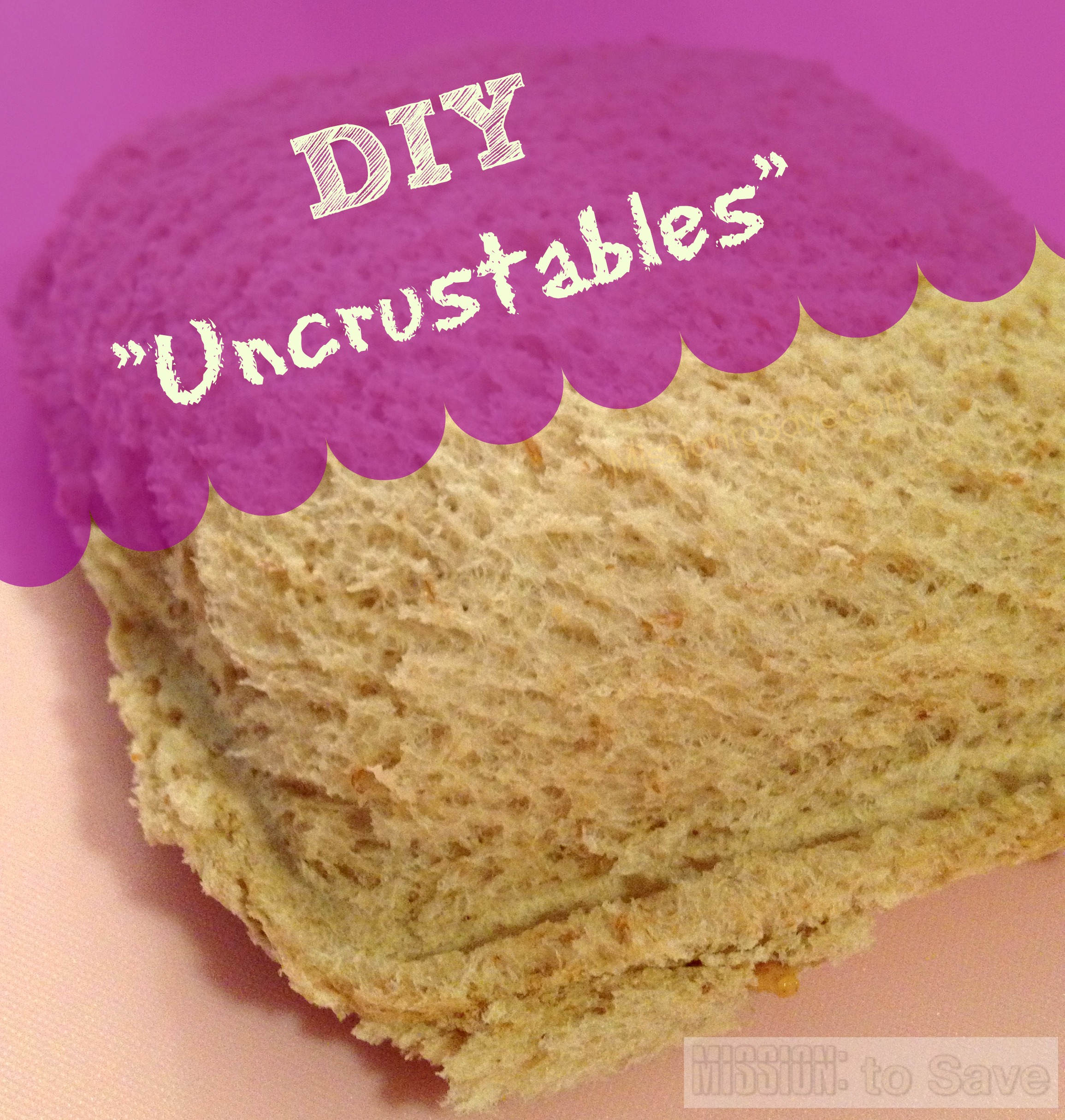 DIY Homemade Uncrustables Sandwiches