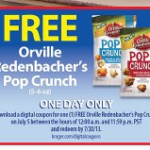 Kroger Free Friday Download – Orville Redenbacher's Pop Crunch, 7/5/13