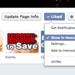 See More Mission to Save in Your Facebook Feed!
