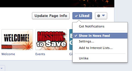 More Mission to Save on Facebook