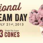 Graeter's National Ice Cream Day Offer- Single Scoops for $1.43!