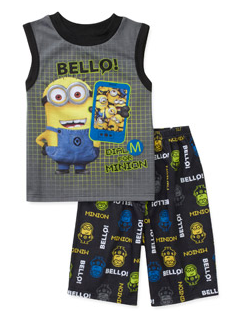 despicable me pjs