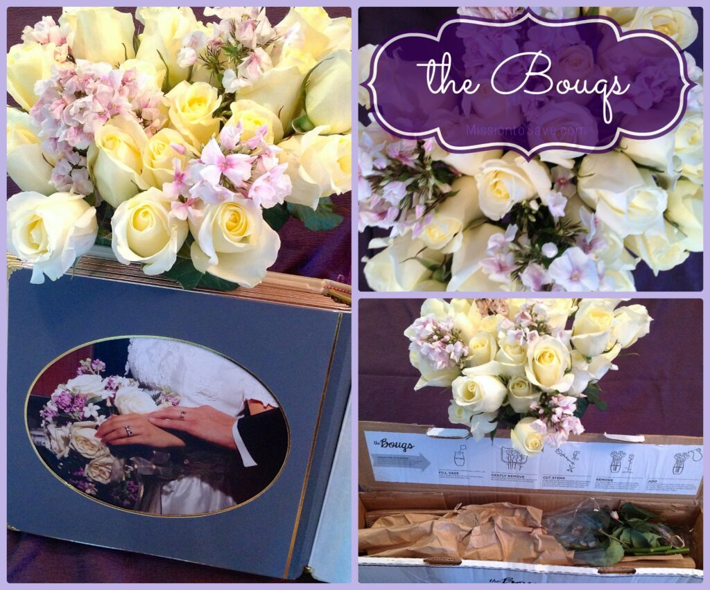 the Bouqs, simple yet beautiful flowers shipped for free.  Read more about my #BOUQLOVE on missiontosave.com