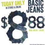 Crazy 8 Jeans Sale- $8.88 Saturday Only!