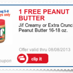 Free JIF Peanut Butter Via mPerks at Meijer (Download Today Only!)