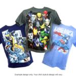 comic book superhero shirts