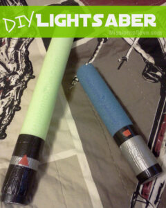 DIY Lightsaber Pool Noodle