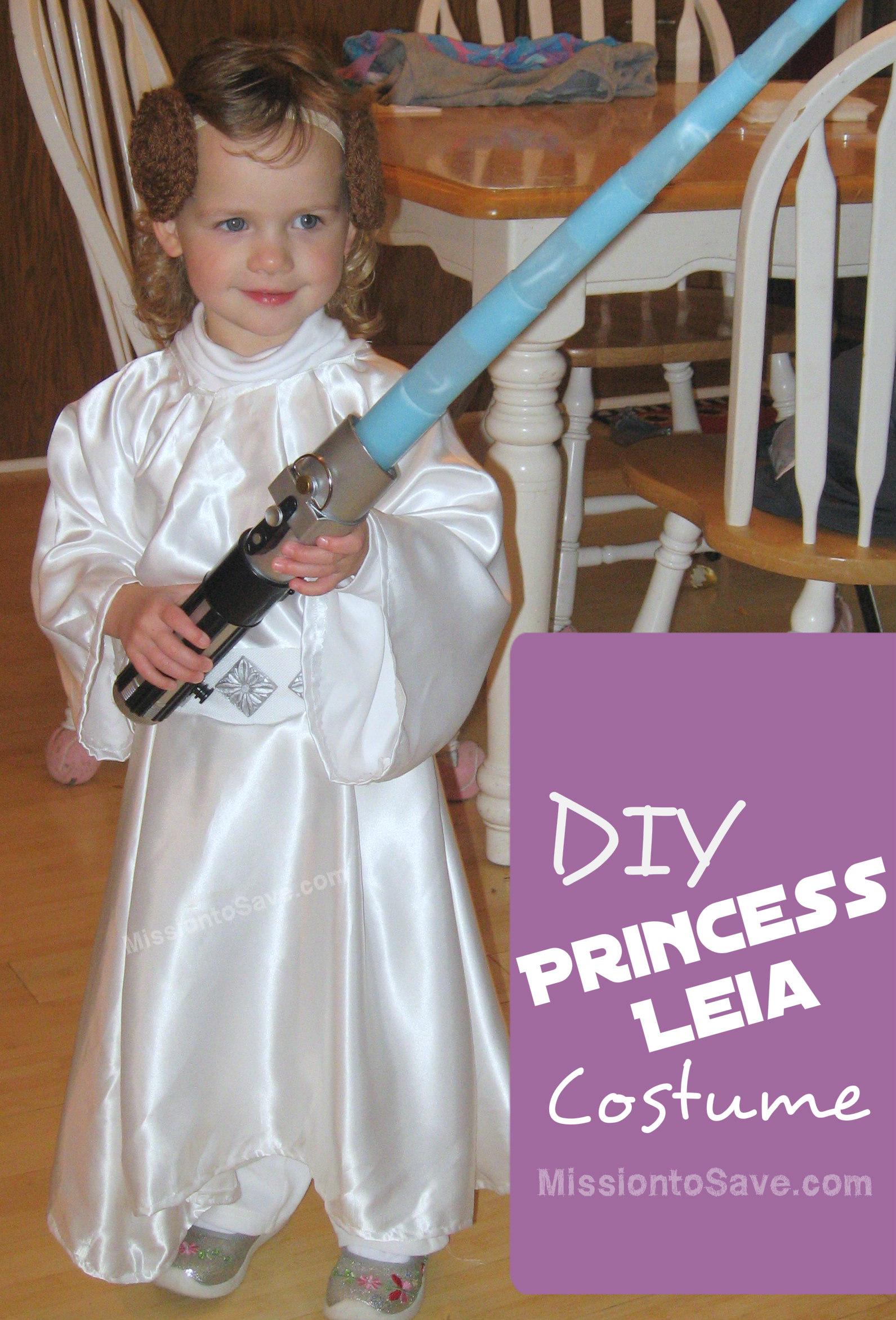 Diy Star Wars Costumes Jedi And Princess Leia Mission