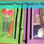 Third Thursday Repurpose: Pencil Pouch for Toiletries