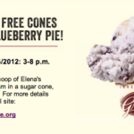 Free Graeter's Elena's Blueberry Pie on 9/4, 3-8 pm