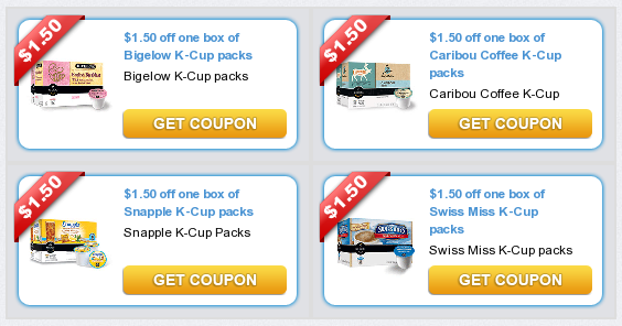 Wake up refreshed in the morning with Caribou Coffee k-cups! Buy two and save $ off any two Caribou Coffee K-Cup Pods (12ct, 18ct, 36ct) when you buy two Printable Coupon!