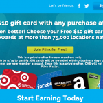 Earn $10 FREE Gift Card with ANY Purchase at CVS (New Plink Accounts)