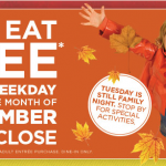 bob evans kids eat free september
