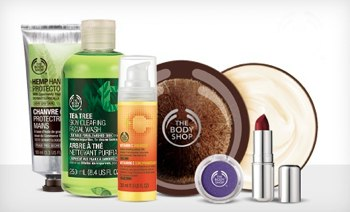 The Body Shop on LivingSocial – $10 for $20