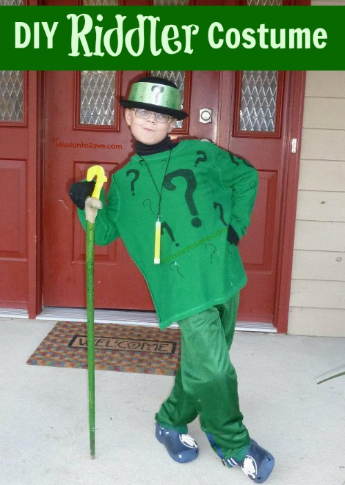 Riddler Costumes For Sale Diy Riddler Costume