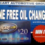 Free Ricart Oil Change and Gift Card Giveaway #WereDealin!
