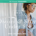 ThredUP Clearance- Dresses for Under $10! (FREE with New User Credit)