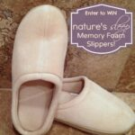 Nature's Sleep Slippers Giveaway- Heaven for Your Feet!