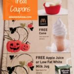 McDonald's Halloween Treat Coupons Booklet- 12 Freebies for $1!