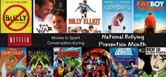 national bullying prevention month netflix movies help