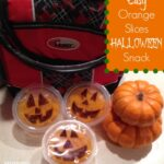 Cute Orange Slices Halloween Snack Idea (Easy!)