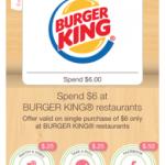 burger king savings with ibotta