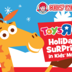 $10 Toys R Us Gift Card Offer in Wendy's Kids' Meal