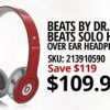 beats by dr dre solo headphones