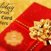Tis the Season for Holiday Bonus Gift Card Offers 2016