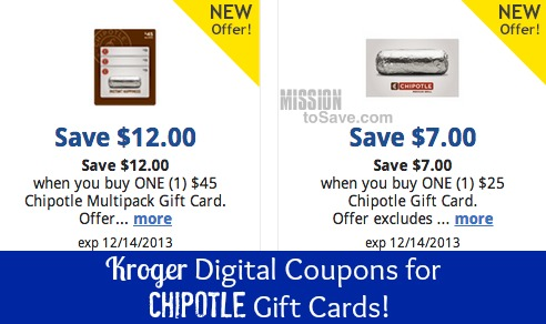 coupons to kroger card