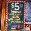 max & erma's bonus gift card offer