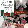 $5 DIY Christmas Gift Ideas with Supplies from Big Lots