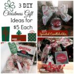Check out these 3 DIY Christmas Gift ideas on MissionToSave.com (each under $5)