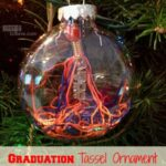 See this Easy DIY Graduation Tassel Ornament on MissionToSave.com